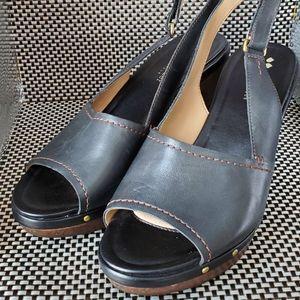 Naturalizer No5 Contour Chunky Heel. Leather Sz.8M